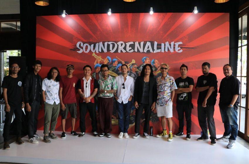 Soundrenaline 2019, Kolaborasi dan Pesta Musik