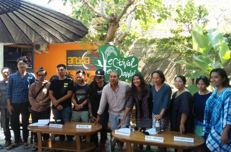 Festival Tepi Sawah, Zero Plastic Hormati Ibu Pertiwi