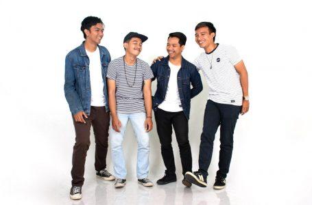 Harmonia rilis Ujung Penantian/ Tude (bass), Wahyu (cajon, vokal), Dodit (lead gitar), Krisna (gitar, vokal)/ inimusik