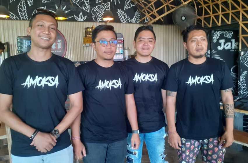 Ajegang Gumine Menjadi Single Perdana Amoksa Band